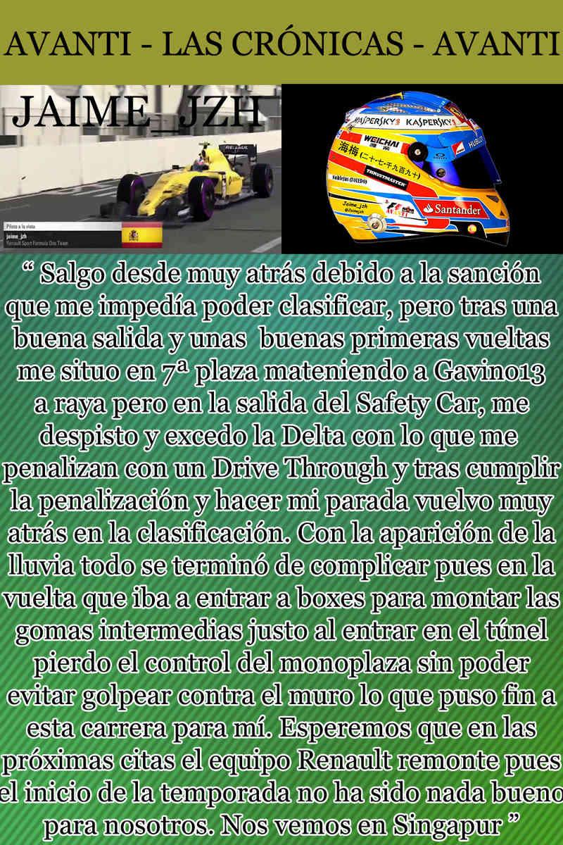 MAGAZINE F1 AVANTI. NÚMERO 7 (20/12/2016) 33_jai10