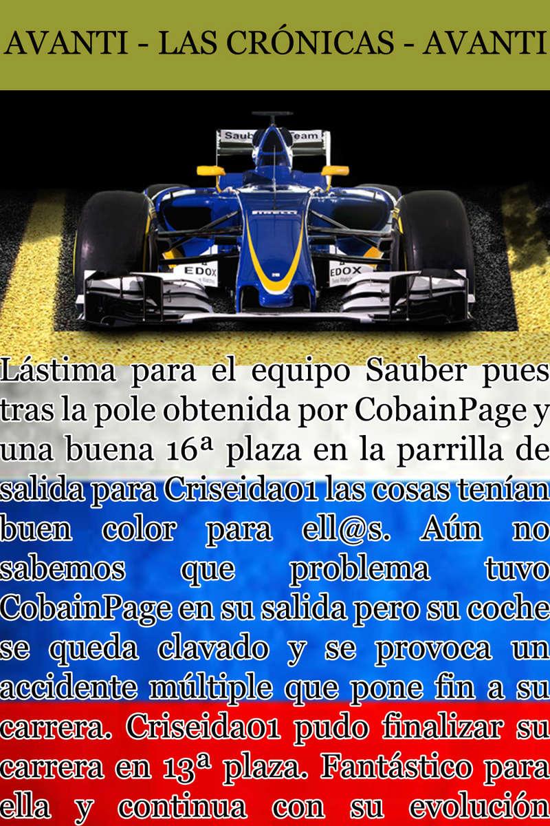 MAGAZINE F1 AVANTI. NÚMERO 5 (20/11/2016) 37_sau10