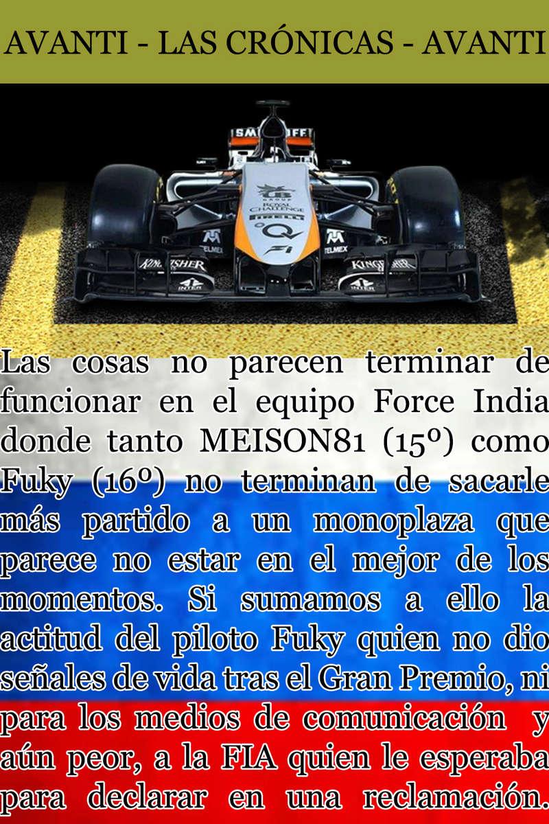 MAGAZINE F1 AVANTI. NÚMERO 5 (20/11/2016) 40_for10