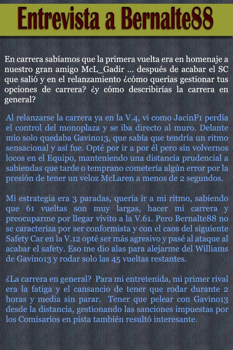 MAGAZINE F1 AVANTI. NÚMERO 8 (27/12/2016) 43_ent11