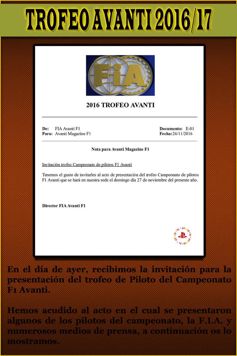 MAGAZINE F1 AVANTI. NÚMERO 6 (30/11/2016) 64_tro10