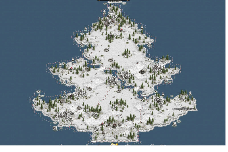 Sauver la fête de Noël avec 270 difficulté 3 cranes 110