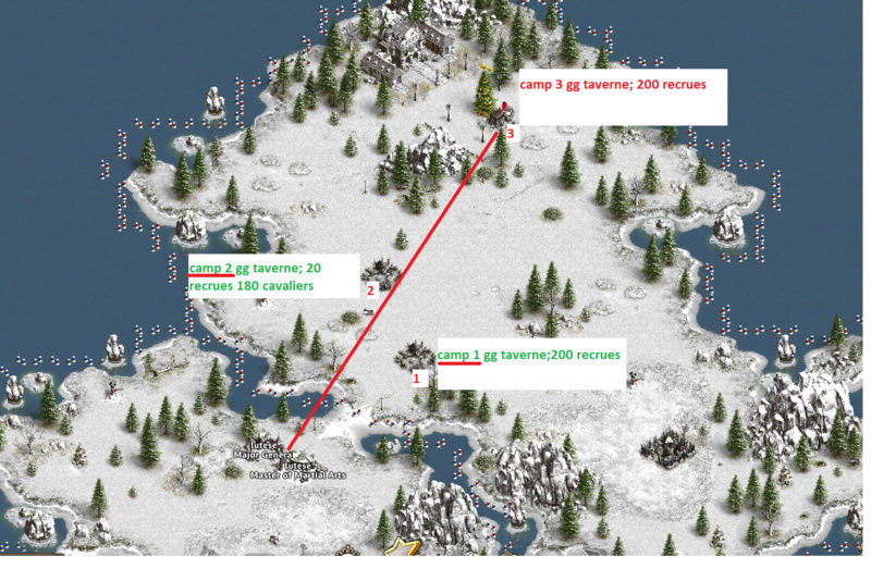 Sauver la fête de Noël avec gg taverne  difficulté 3 cranes 413