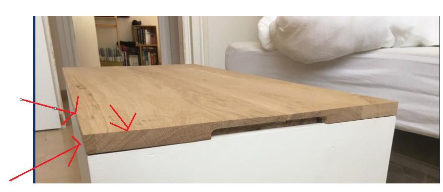 Table basse avec plateau relevable Captu152