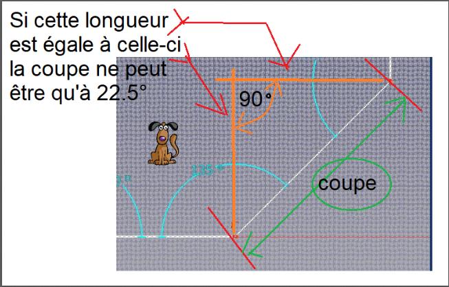 Comment calculer les angles de découpe d'une moulure Captu237