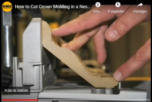 Comment calculer les angles de découpe d'une moulure Captu238