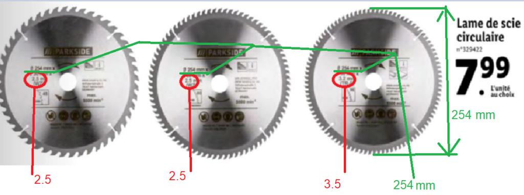 lames de scie circulaire Sans_t33