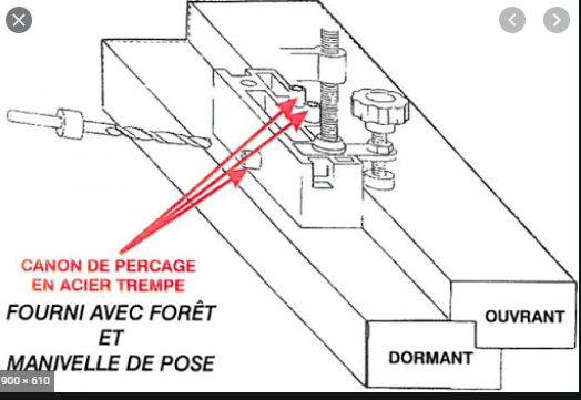 Projet et réalisation d'une double porte-battante thermique. Sans_t81
