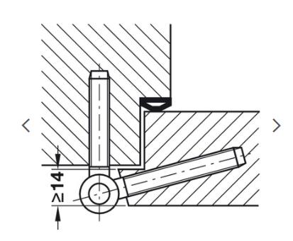Projet et réalisation d'une double porte-battante thermique. Sans_t82