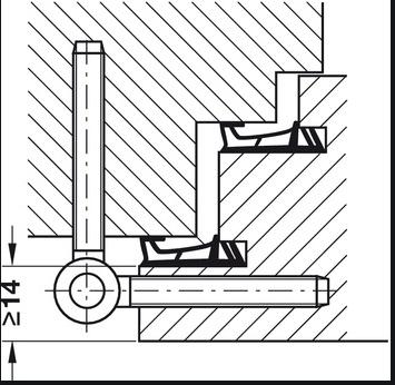 Projet et réalisation d'une double porte-battante thermique. Sans_t83