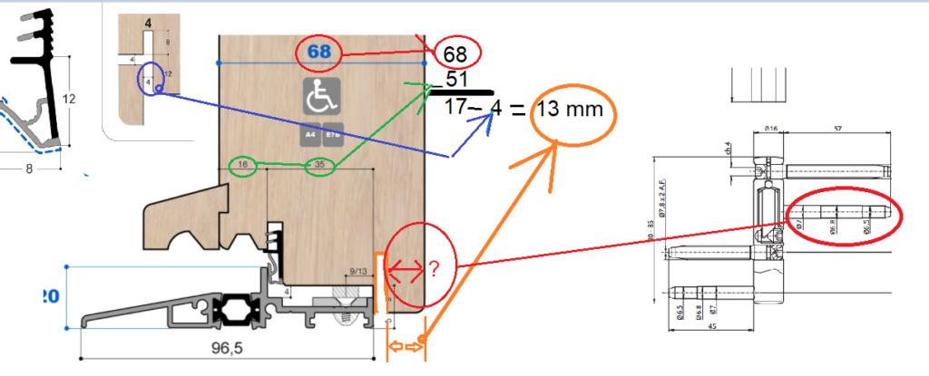 Projet et réalisation d'une double porte-battante thermique. - Page 2 Sans_t90