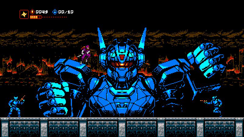 Cyber Shadow - hommage à Nastume Cybers11
