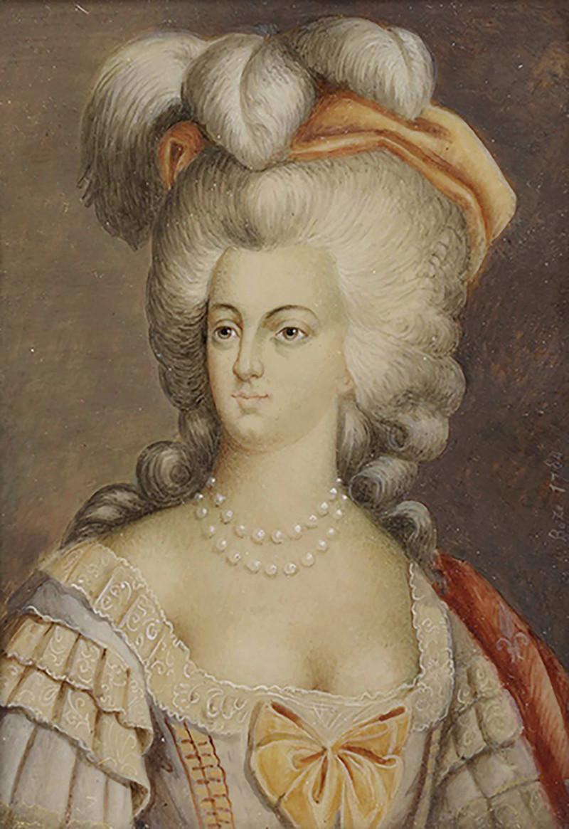 Portrait de la Reine Marie-Antoinette par Joseph Boze - Page 4 14792910