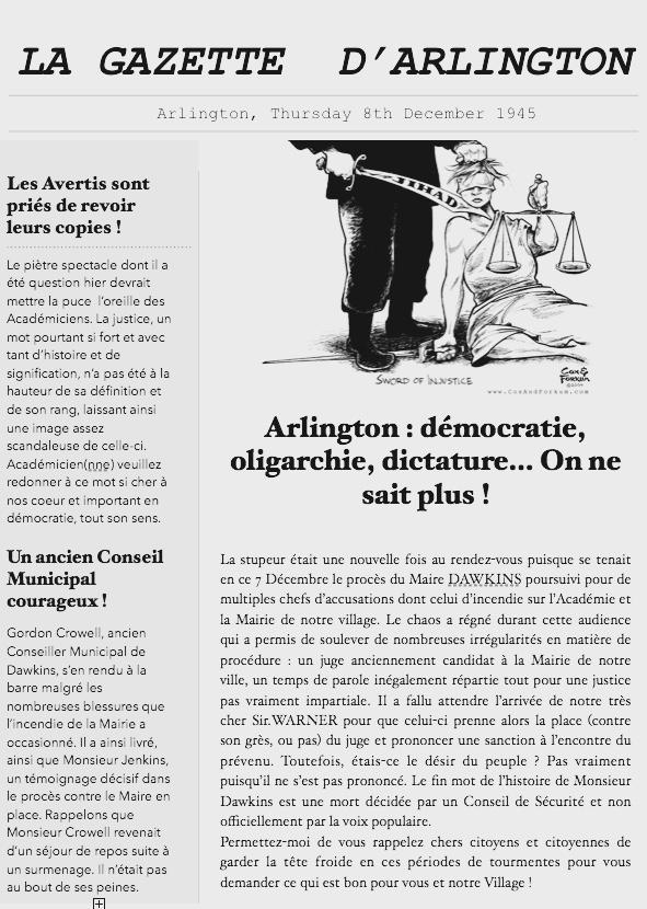 [GAZETTE] Edition du 08/12/1945 Captur16