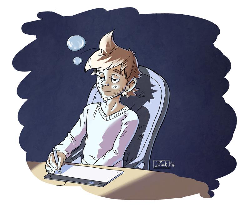 [WEBCOMIC] Zack Hitori - Page 4 Minaia10