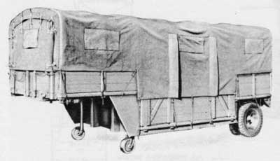 LES VEHICULES DE LA 4th INFANTRY DIVISION : LA REMORQUE 2t FRUEHAUF M17 Oo194312