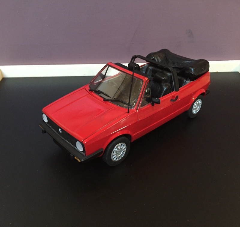 VW Golf 1 Cabriolet 1/24 [ REVELL ] - Page 6 Image11