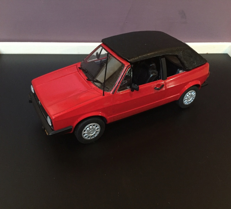 VW Golf 1 Cabriolet 1/24 [ REVELL ] - Page 6 Image12
