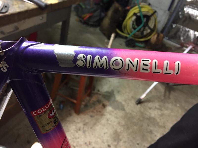 Cadre Simonelli Columbus SLX 2017-053