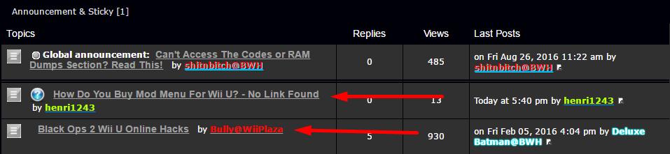 How Do You Buy Mod Menu For Wii U? - No Link Found Screen12