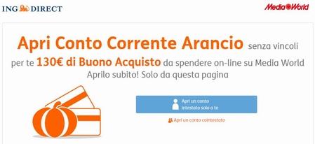 APERTURA CONTO CORRENTE ARANCIO Aaa10