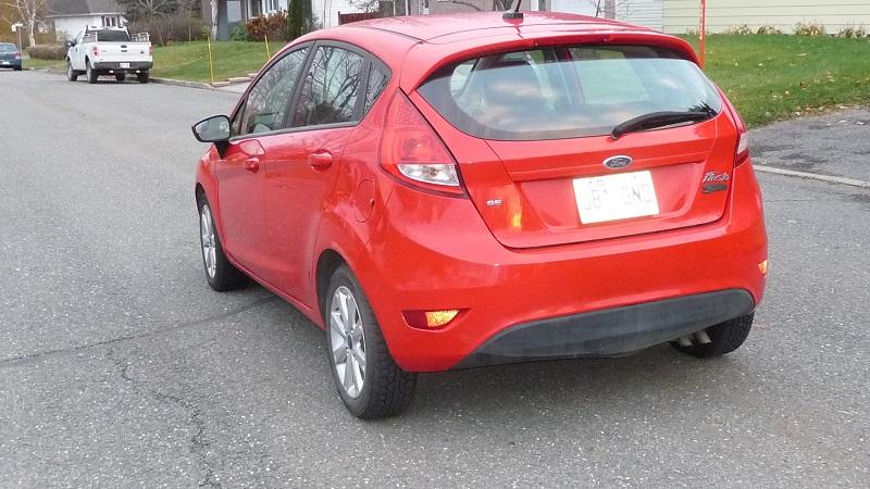 VENDU - Ford Fiesta 2012 à vendre P1010413