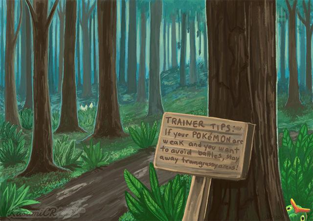 Promenons-nous dans les bois - Mission Rang D [reserved by Gaku] 9b97d711