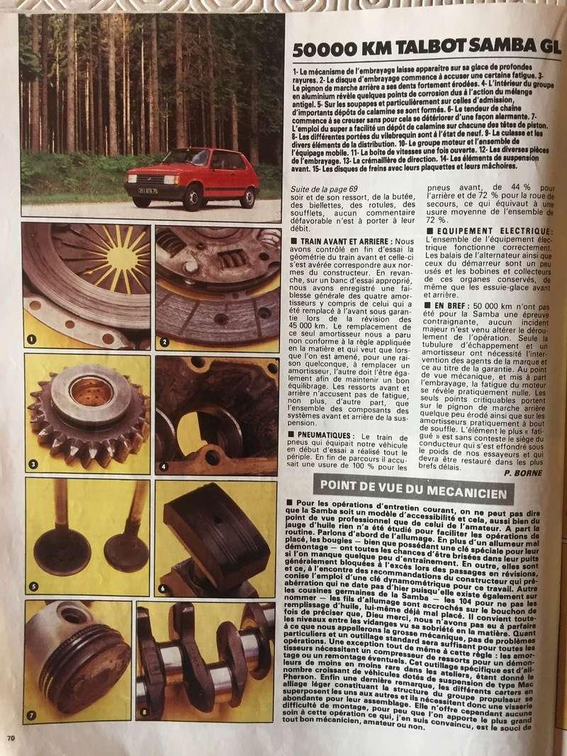 Auto-Journal N° 13 du 1er Aout 1982 P1110
