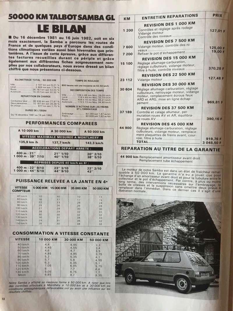Auto-Journal N° 13 du 1er Aout 1982 P1310