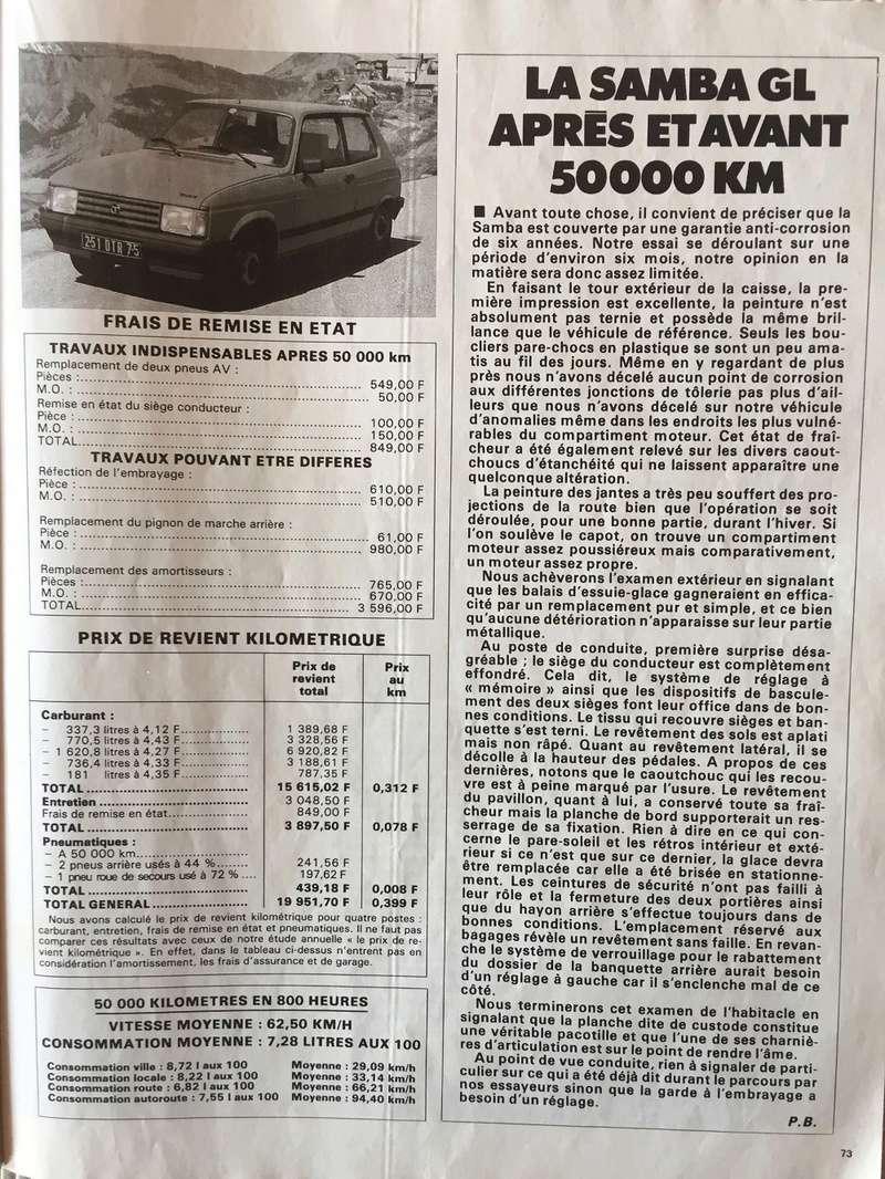 Auto-Journal N° 13 du 1er Aout 1982 P1410