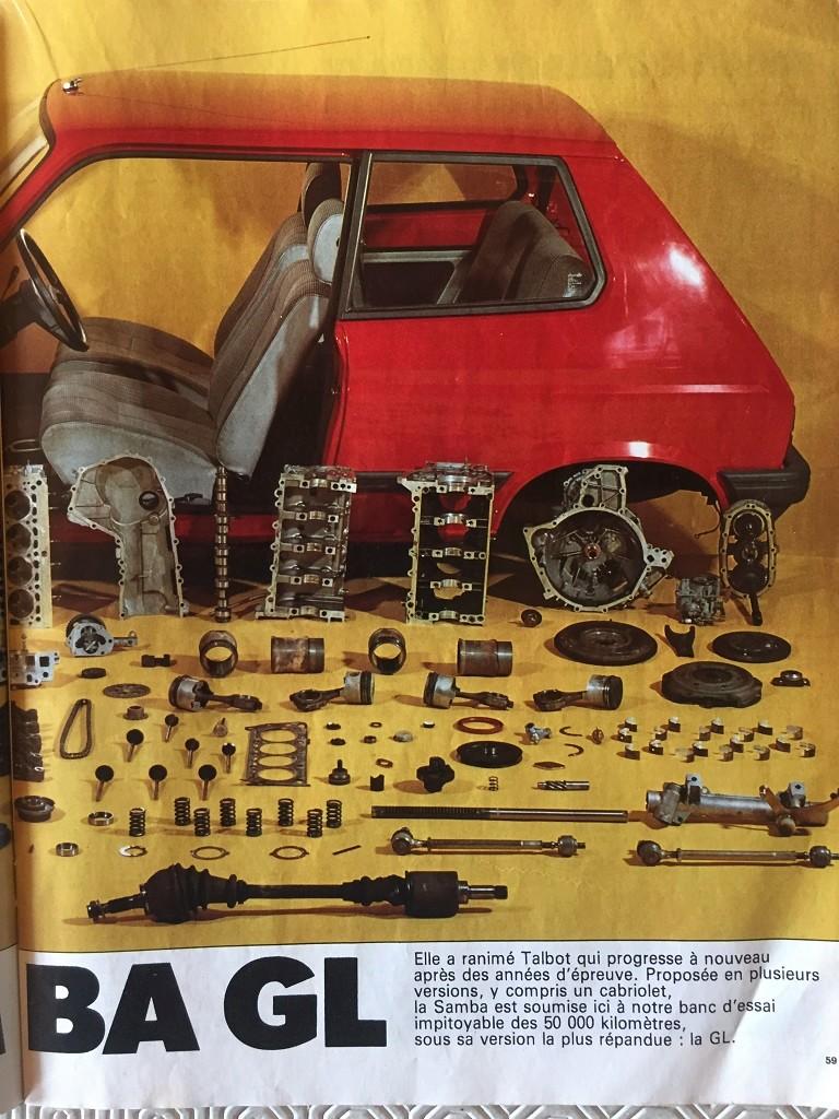 Auto-Journal N° 13 du 1er Aout 1982 P210