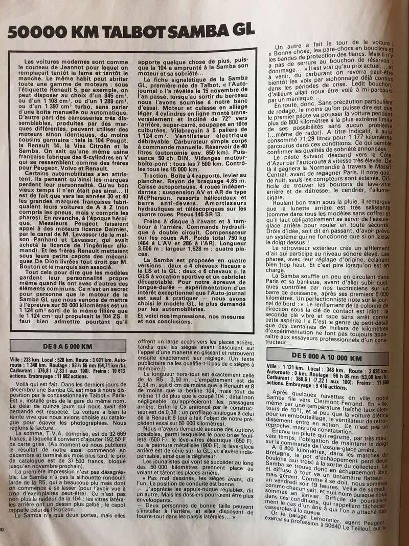 Auto-Journal N° 13 du 1er Aout 1982 P310