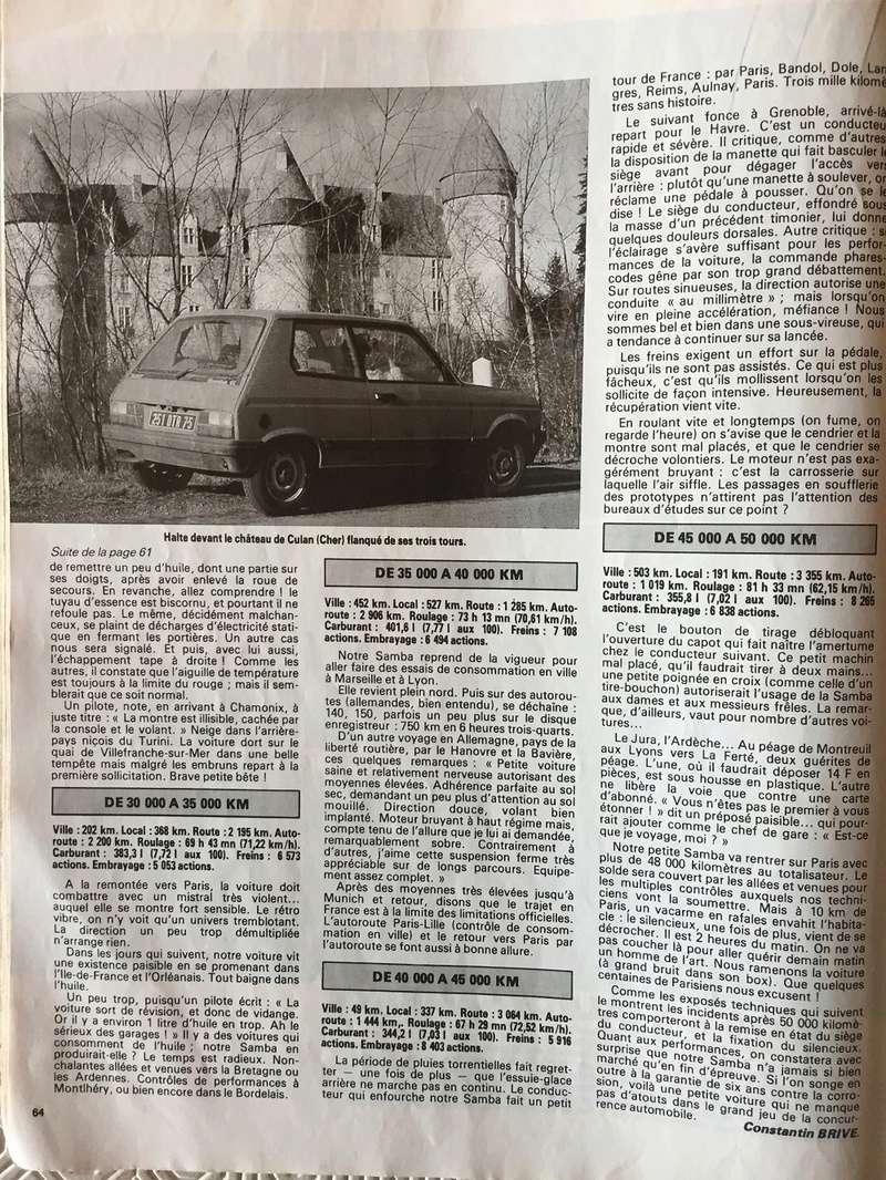 Auto-Journal N° 13 du 1er Aout 1982 P710