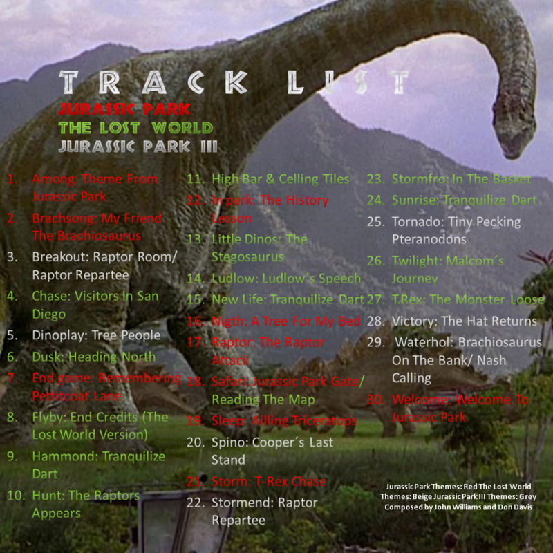Jurassic Park Trilogy Music Pack  Track_10