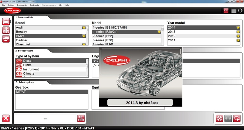 New Delphi 2014 R3 for DS150 OBD Scanner TCS CDP+ Pro DS150E Cars and Trucks Free Download link !  2014_310