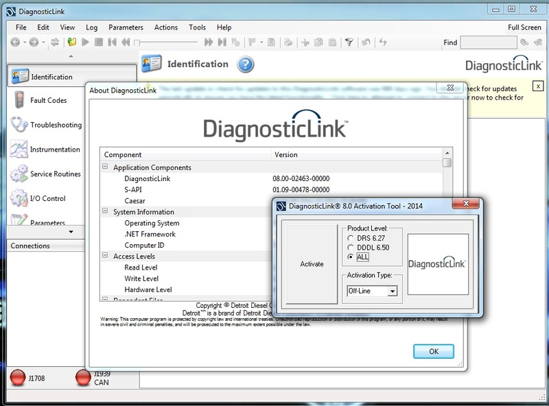 Detroit DIesel Diagnostic Link 8 (DDDL 8.0) free download link Dddl8_10