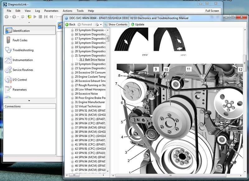 Detroit DIesel Diagnostic Link 8.04 (DDDL 8.04) Troubleshooting Dddl8_12