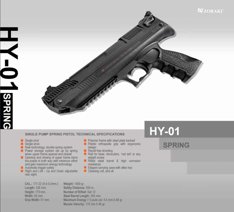 Nouveauté: ZORAKI HY-01 4.5mm 0110