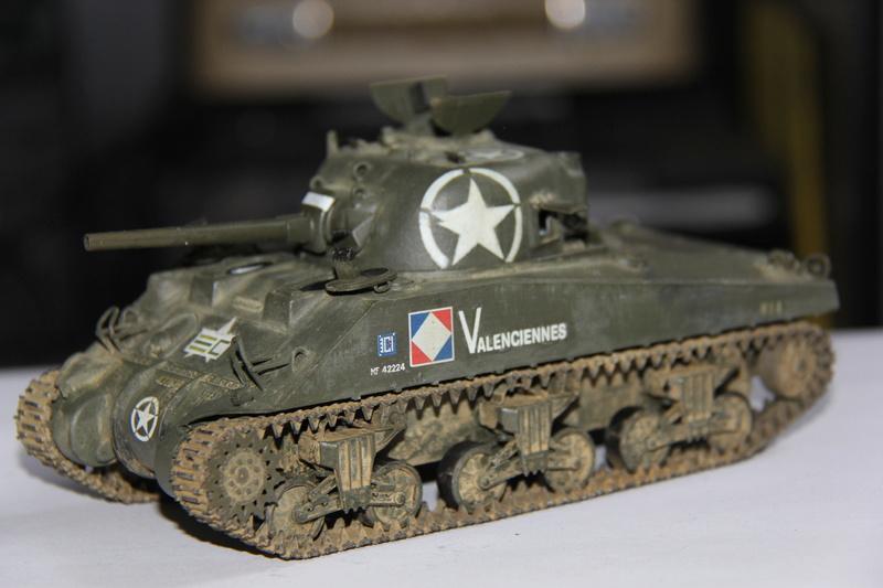 sherman M4 A4  2eme Cuir 00113