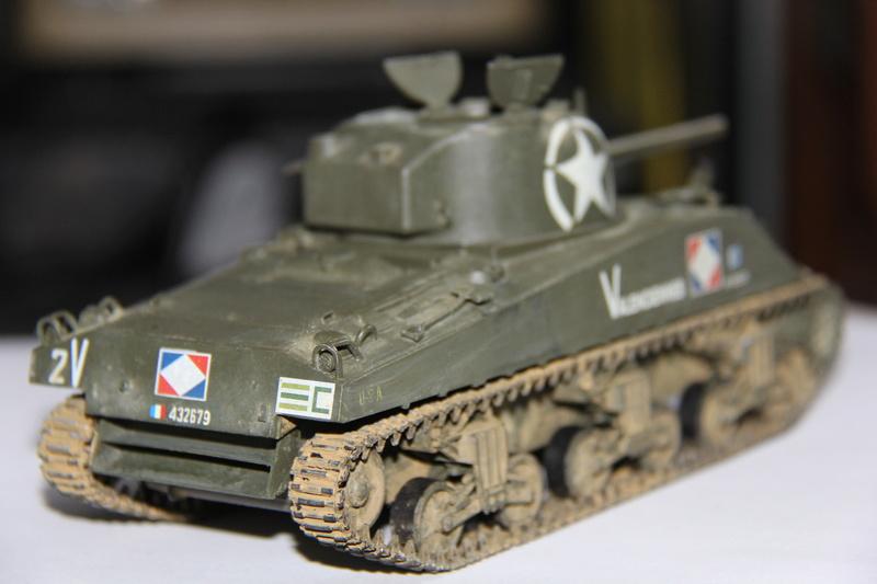 sherman M4 A4  2eme Cuir 00312