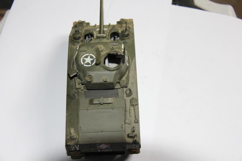 sherman M4 A4  2eme Cuir 00412