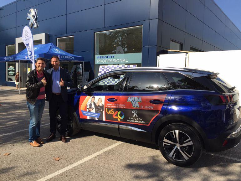 ANDA YA presente en la presentación del nuevo Peugeot 3008 14782710