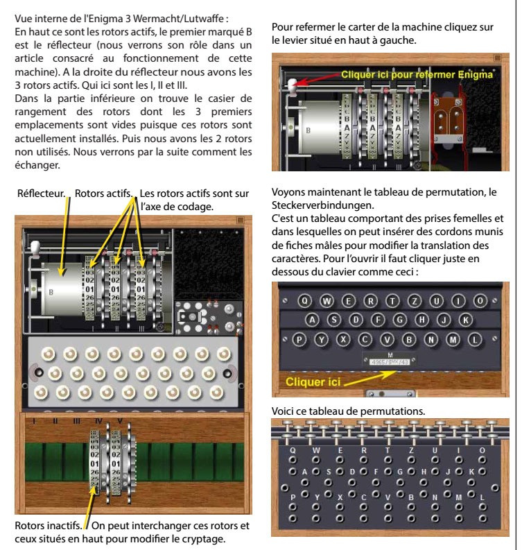 Mode d'emploi de la machine Enigma traduit par Adri - les 6 premières pages E210