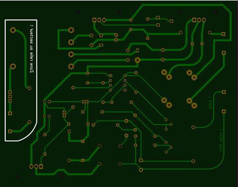 Alim G.D.O. Révision 1 : Réalisation du circuit imprimé de cette version Gdo-fa10