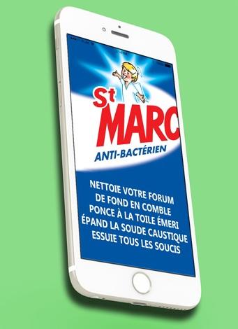 La lessive St Marc ! Iphone10