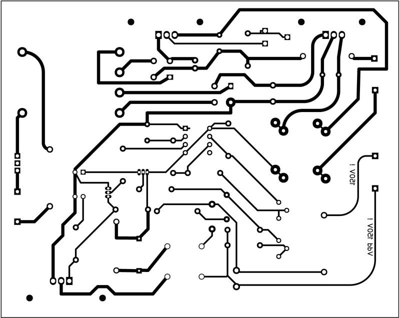 Alim G.D.O. Révision 1 : Réalisation du circuit imprimé de cette version Jeter11