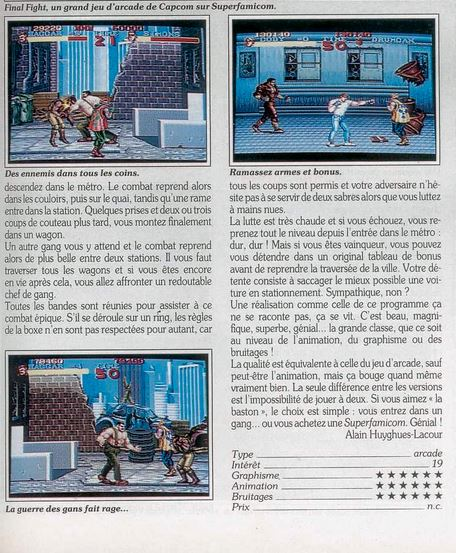 MEGADRIVE vs SUPER NINTENDO : Fight ! - Page 6 Captur14