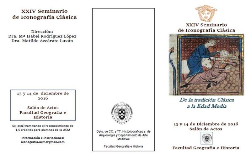SEMINARIO DE ICONOGRAFÍA CLÁSICA Semi110