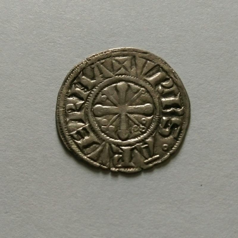AUVERGNE - ÉVÊCHÉ DE CLERMONT - ANONYMES Denier (1100-1150) 11010