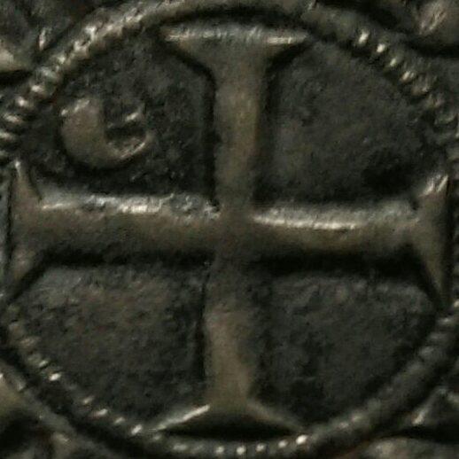 Duché d'Aquitaine, Édouard Ier, Denier au léopard 1er type (1291) 116111